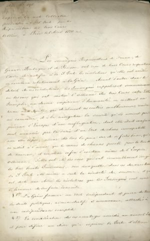 London Protocol, February 3rd 1830 Page 1