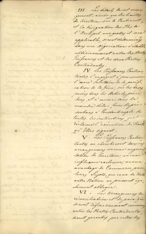 Copy of the Treaty of London 1827 between the three Great Powers (United Kingdom, France, Russia) Page 6