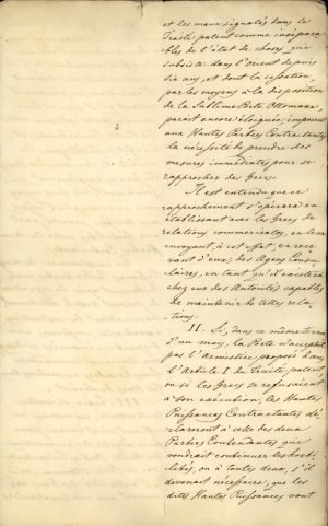 Copy of the Treaty of London 1827 between the three Great Powers (United Kingdom, France, Russia) Page 8
