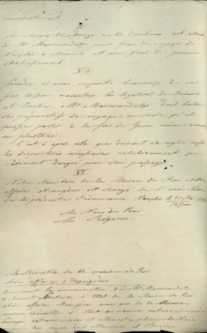 Decree appointing Alexandros Mavrokordatos, until then Prime Minister and Minister of Foreign Affairs, as Ambassador of Greece in Bavaria and Prussia Page 4