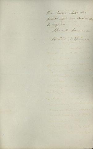 Αντίγραφο επιστολής του Πρεσβευτή των ΗΠΑ στο Λονδίνο Andrew Stevenson προς τον Έλληνα Πρεσβευτή εκεί Σπυρίδωνα Τρικούπη σελ. 3